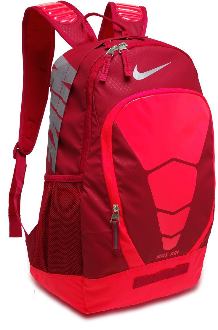 nike max air backpack pink