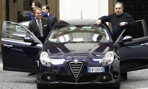 Fiat's Marchionne criticizes remarks from head of Ferrari