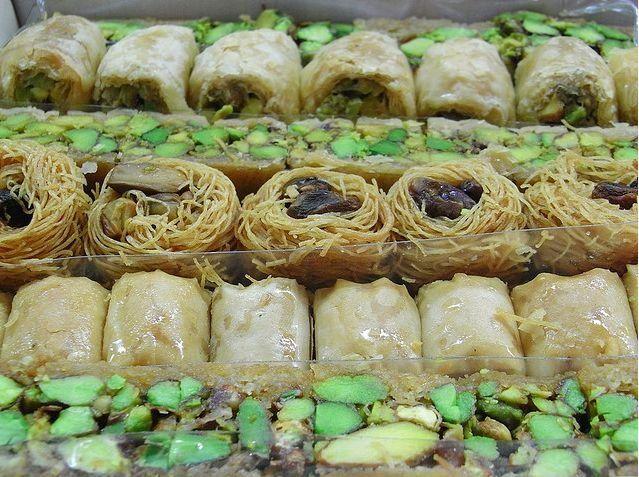 Foto de la receta de ghriba de nueces árabe
