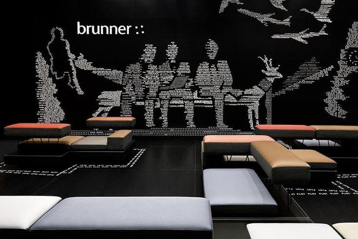 Fair stand Brunner Salone Milan 2012, Milano, 2012