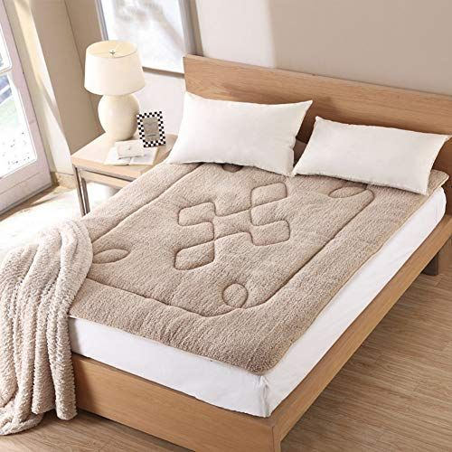 Gdzfy Durable Soft Bed Tatami Mat Traditional Non Slip Futon