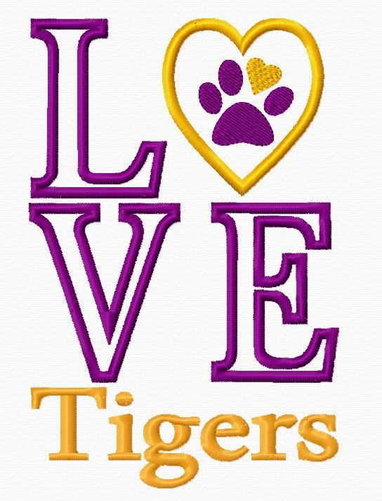 tiger pride clip art - photo #41