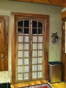 Antique French Doors Lead To Laundry Room   Traditional   Interior Doors    Nashville   Leland Interiors, LLC
