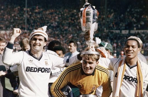 Luton Town, League Cup winners 1988 - LTFC 3 Arsenal 2