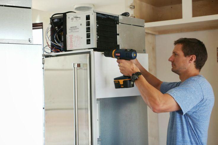 marvel refrigerator compressor installation