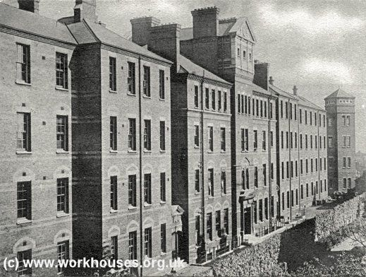 Paddington Workhouse Infirmary • Harrow Road • 1906