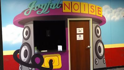 """Worlds of Wow - The """"Joyful Noise"""" room at Journey Church in Norman, OK is a Pre-K classroom that has its own theme as part of each destination for kids!"""