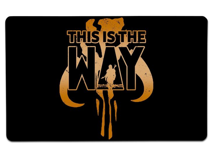 This Is The Way The Mandalorian Design Available At Redbubble Mandalorian Themandalorian Mandalor Bobafett Star Wars Art Star Wars Poster Star Wars Images The world is yours wallpaper