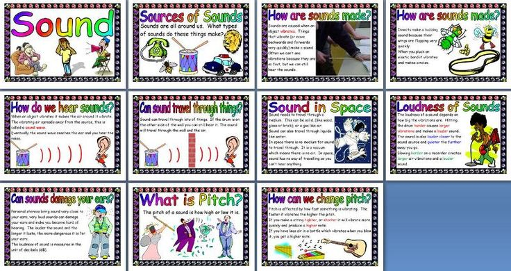 KS2 Science Teaching Resource - Sound  printable classroom display posters for primary and elementary  schools