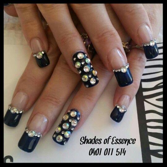 Nailart, bling nails