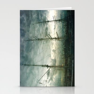 Sailboat Stationery Cards by Fine2art - $12.00