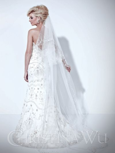 22 best Christina Wu Bridal Gowns images on Pinterest | Short ...