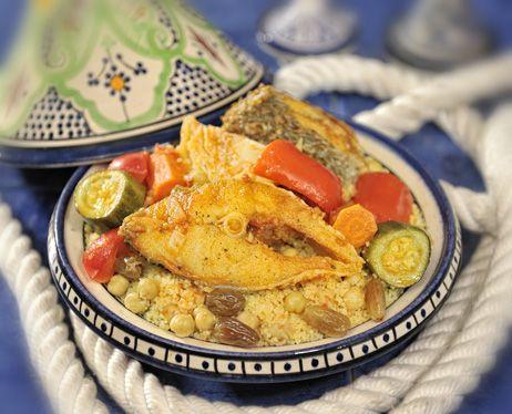Couscous au mérou #tasty