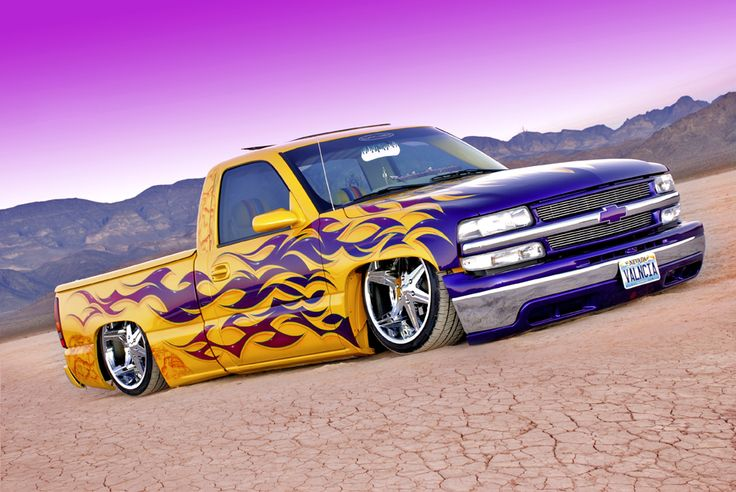 Chevrolet Trucks with Lowrider Drawings | Dedication ...