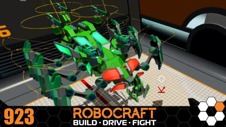 Robocraft - 'Bugbot' Build
