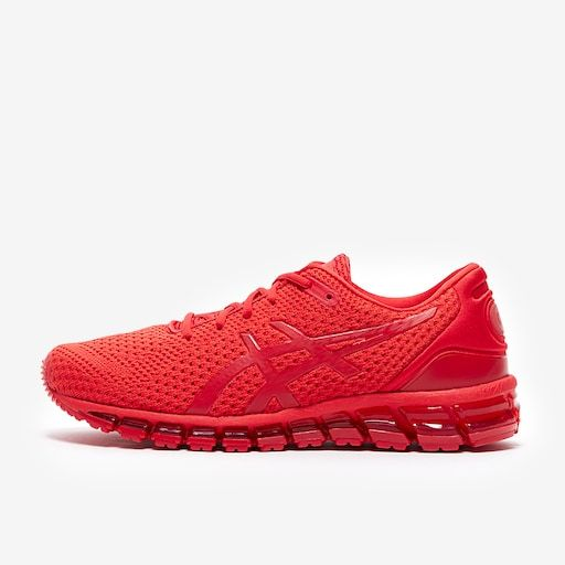 ASICS GEL Quantum 360 Knit Classic Red | Run Girl Run in