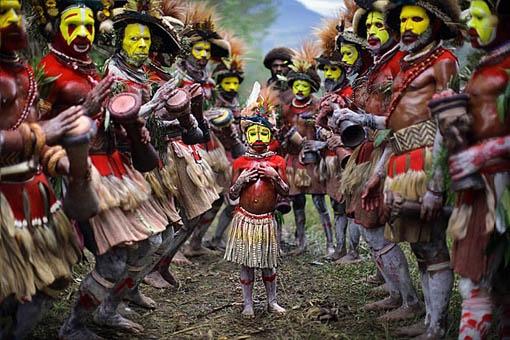 Mount Hagan Sing-Sing, Papua New Guinea