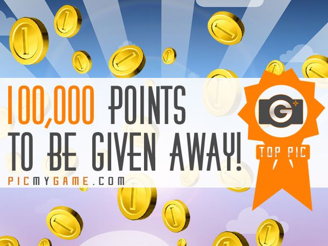 PicMyGame Top Pic | Win 100,000 Points!