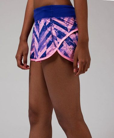 Another great find on #zulily! Power Purple Speedy Shorts by ivivva #zulilyfinds