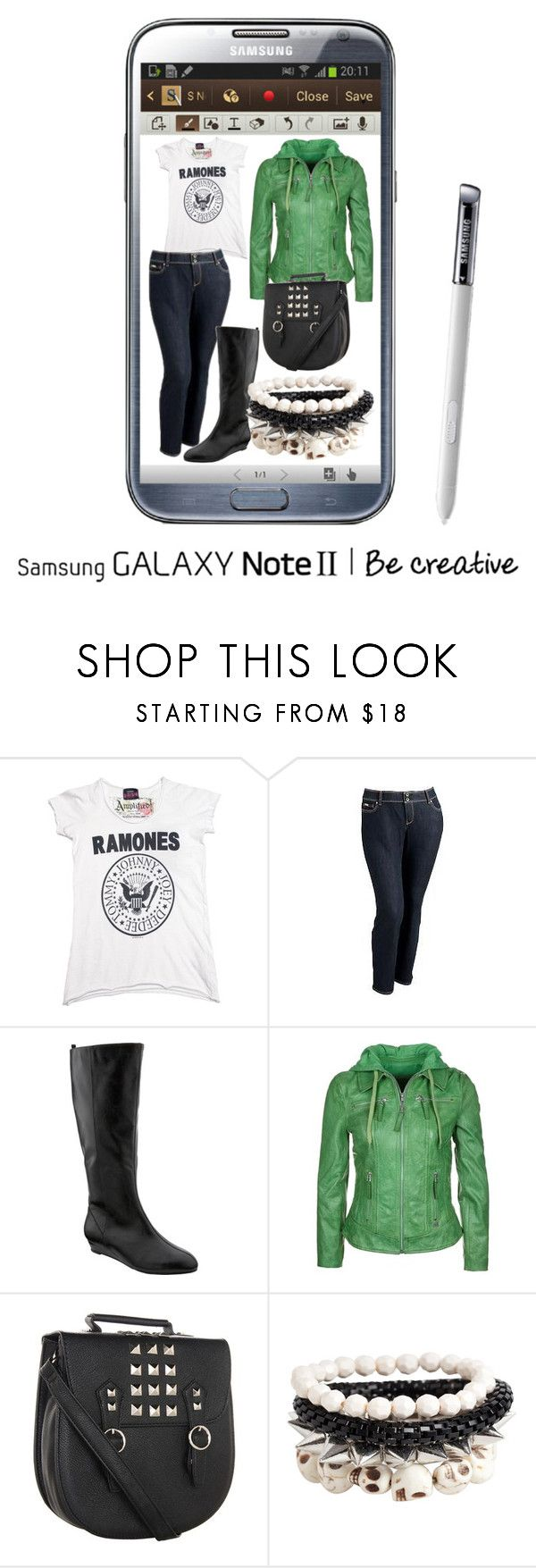 """Effortless Edge"" by goldenfirefly85 ❤ liked on Polyvore featuring Samsung, Old Navy, Freaky Nation, Steve Madden and Pieces"