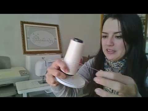 Barra em malha tipo galoneira: como fazer na máquina doméstica (DIY Tutorial com a Bel) - YouTube