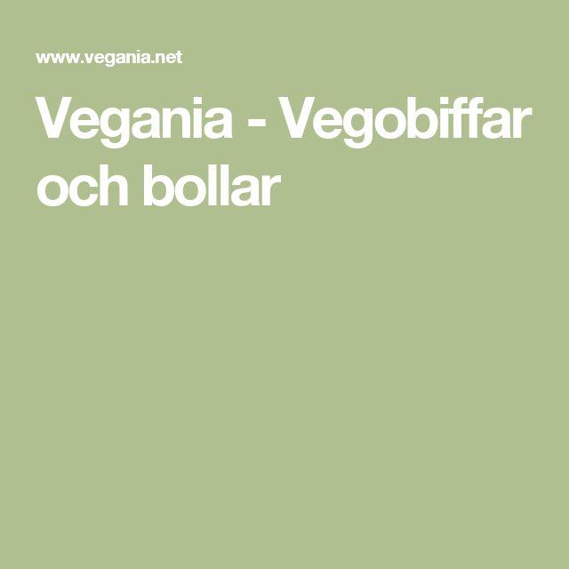 Vegania - Vegobiffar och bollar
