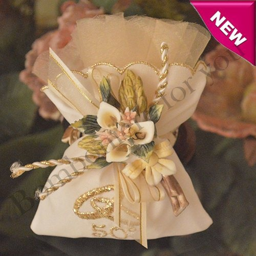 50th Wedding Anniversary Favor Ideas: 50Th Wedding Anniversary Favor With Calla Lily Pin