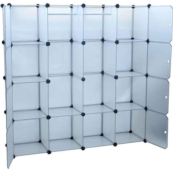 Cube Closet Organization Systems Blue Color   18 Inspiring Cube Closet  Organizer Photo Ideas