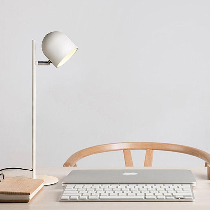 Led Table Lamp Iron Reading Lights E27 110V 220V Clip Office Creative  Bedroom Bedside Lighting Reading