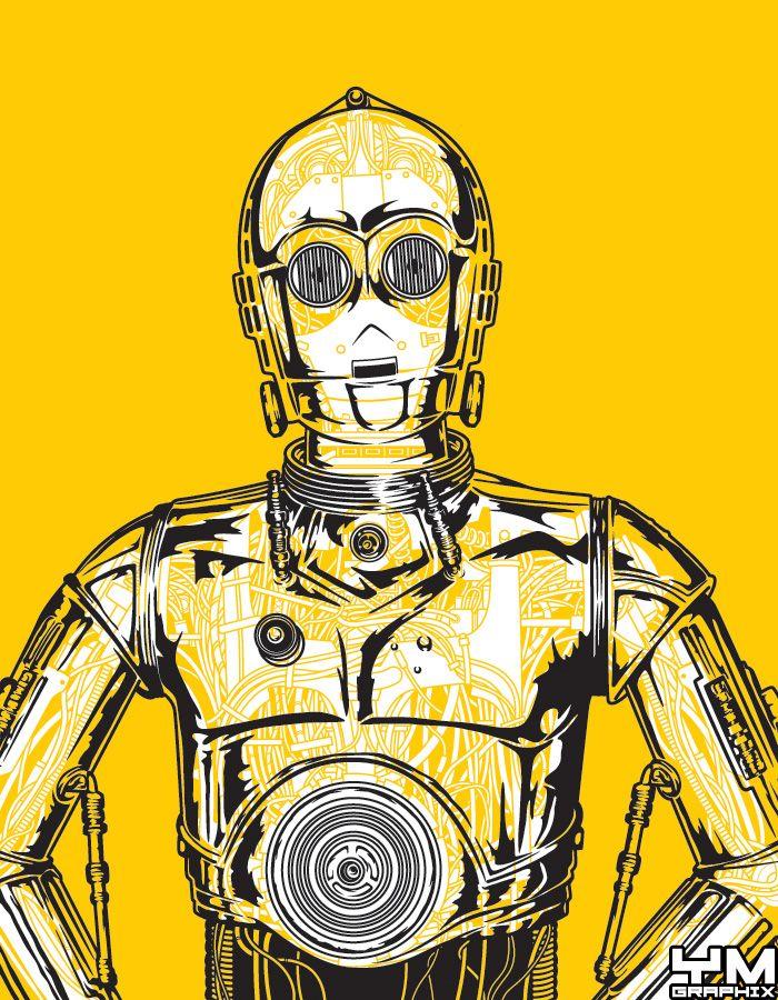 C-3PO Robot Anatomy