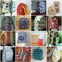 Boy Backpacks!