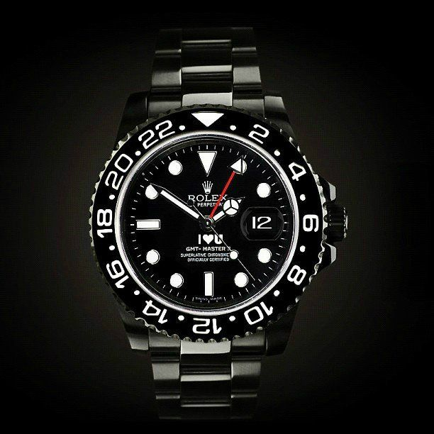 I Love U Rolex GMT II by Titan Black - a 'bah-gin' at $21,000. for my husband