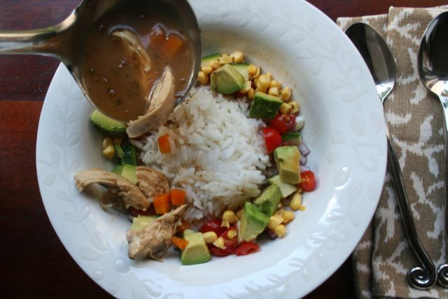 Mexico City Chicken Soup