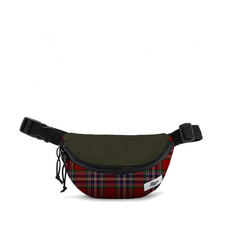 Купить Сумка на пояс Якорь: Малая барка тартан / оливковая крышка в интернет-магазине GoodLocal