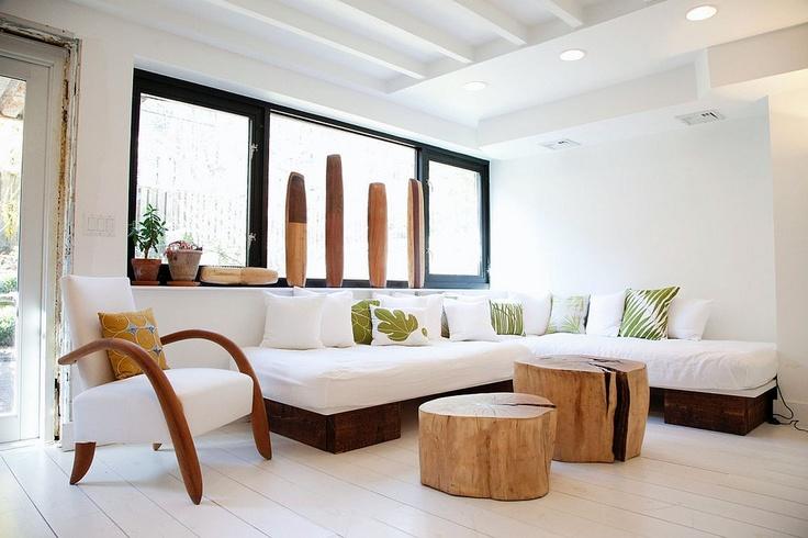 stump coffee tables