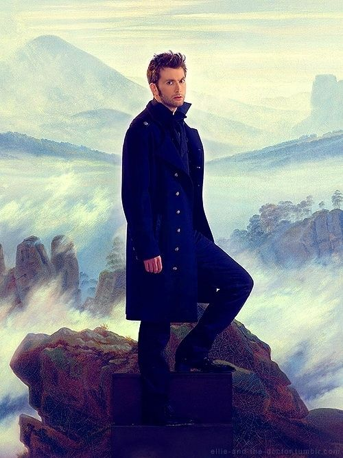 King of the Mountain. | Community Post: 27 Photos Of David Tennant That Will Make Your Panties Drop.