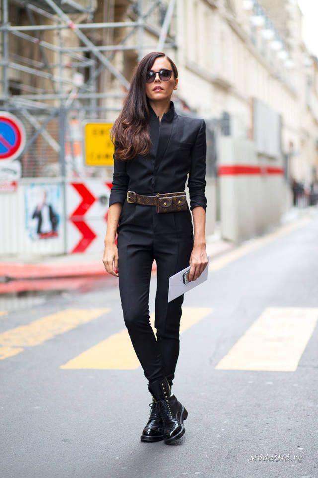 Уличная мода: Уличный стиль недели высокой моды в Париже сезона осень-зима 2014-2015