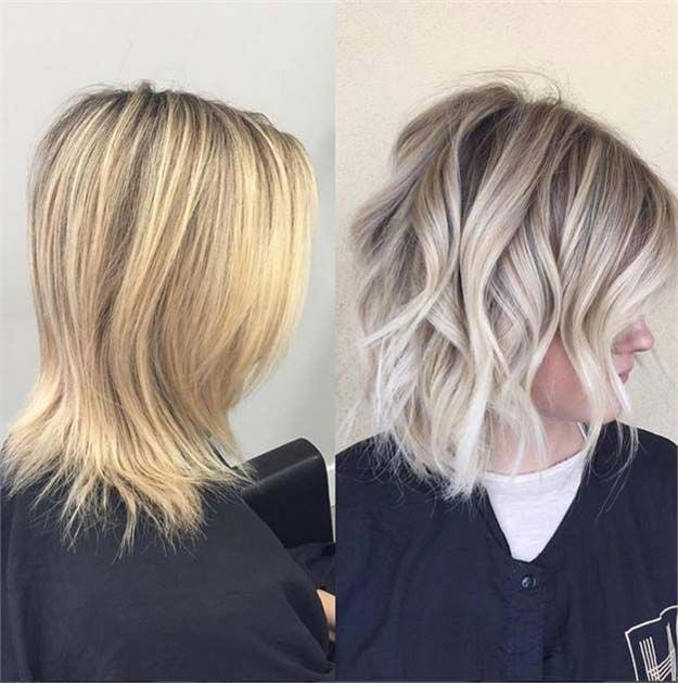 42 Balayage Ideas For Short Hair Sombre Hair Yellow Blonde Hair