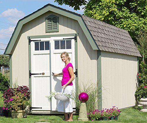 Little Cottage Company Colonial Greenfield DIY Playhouse Kit, 12u0027 X 16u0027 U003eu003e