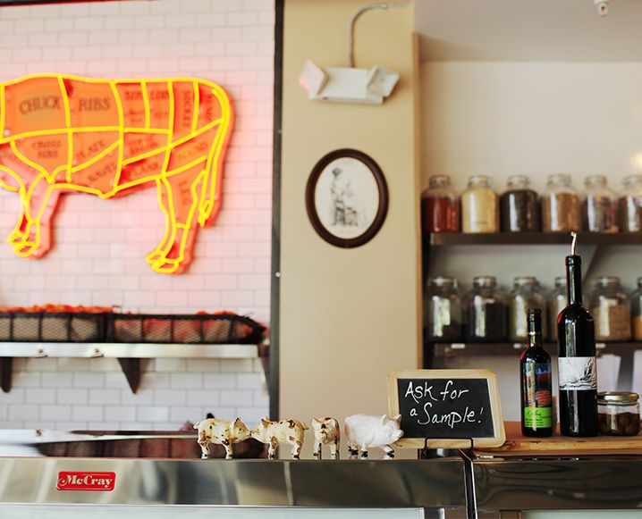 Lindy & Grundy: How To Shop Your Organic Butcher Shop