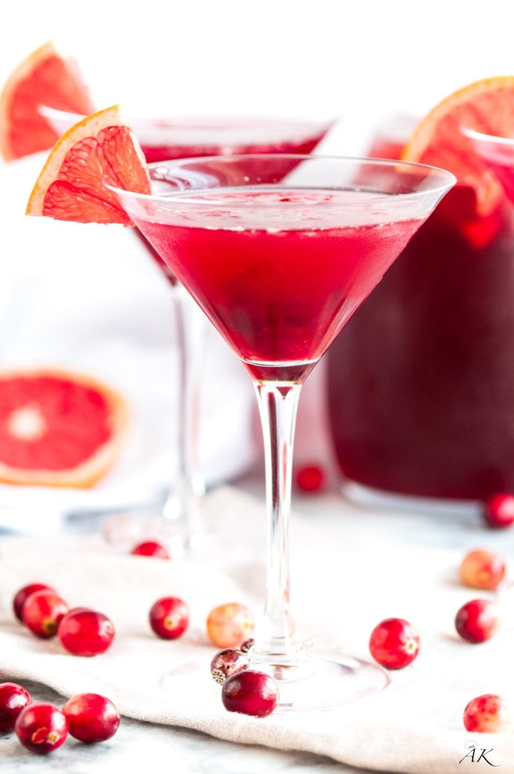 Easy Cranberry Daiquiris