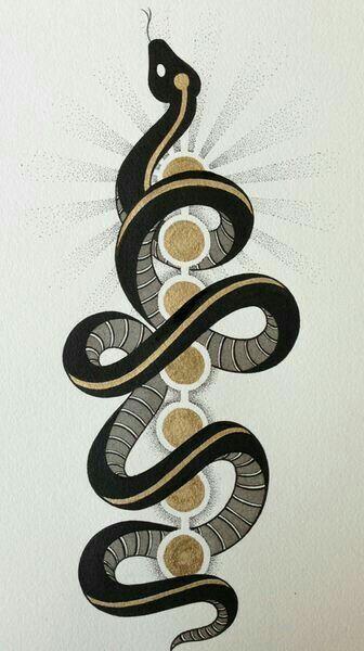 25 best ideas about kundalini tattoo on pinterest snake for Magic cobra tattoo