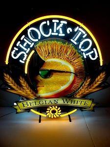 A Shock top Neon Beer Sign