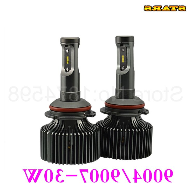 46.34$  Watch now - http://alixsd.worldwells.pw/go.php?t=32683826131 - Auto parts high power 30W 4200LM 9007 LED headlight bulb replace HID XENON and Halogen lights P7 6000K