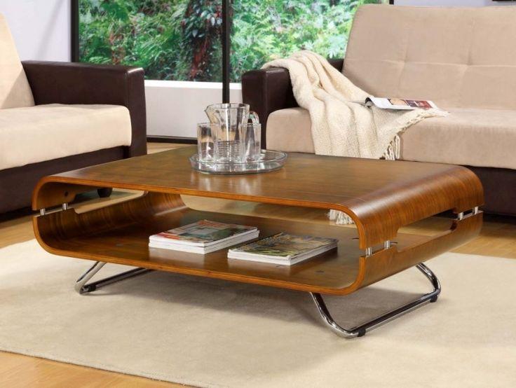 Jual Curve Walnut Coffee Table JF302. Oak Furniture HouseWalnut ...