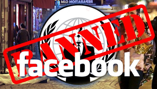 FACEBOOK PROTECTING TERRORISTS: Hours Before Paris Terror Attack, Facebook Stopped Anonymous From Exposing ISIS Recruiters #BANFACEBOOK