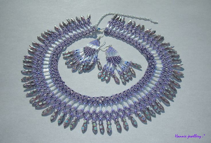 Beading jewelery from Hannie jewellery :) Cheb, Czech republic hanniejewellery.cz/
