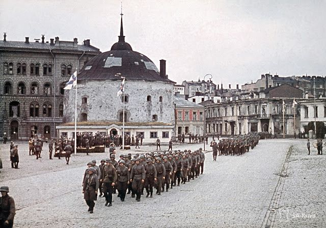 Finnish Victory Parade at Viipuri