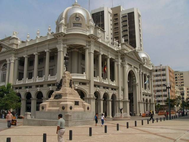Palacio Municipal is a sight in Guayaquil near the Museo Naval.
