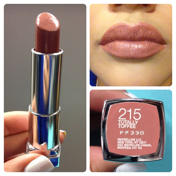 """Maybelline color  sensational  """"Totally toffee"""" The perfect nude for my olive skin. Does not wash me out."""